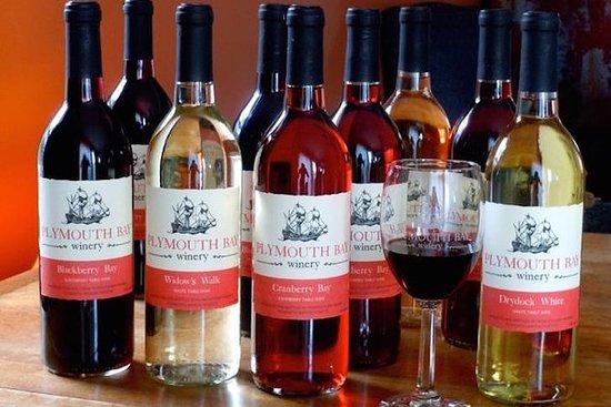 プリマス湾を味わうワインとワインゼリーソース