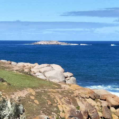 Granite Island: A view of an Island, from an Island