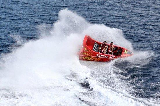 Barco a jato de Cebu com transferência