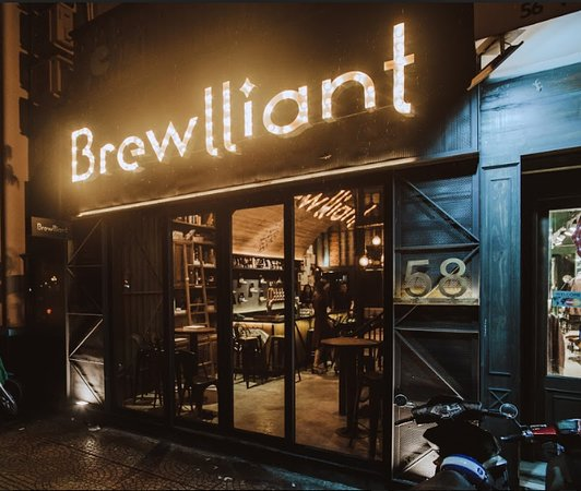 Brewlliant Craft Beer Gastropub - 58 Vo Thi Sau Street, District 1, Ho Chi Minh City