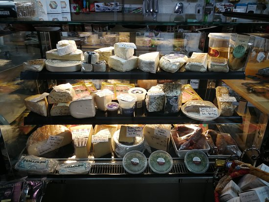Big gourmet cheese selection