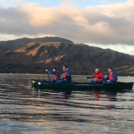 Christmas party ideas in Windermere the Lake District Paintball canoe orienteering and hill walking in the mountains