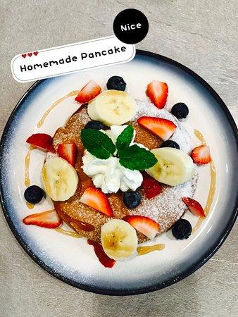 Bareeseta Coffee House: Sweet breakfast always great start at breakfast, Vanilla Scented Pancake will be your great choice.