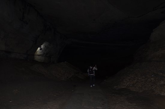 Belum Caves: It was dark at some places