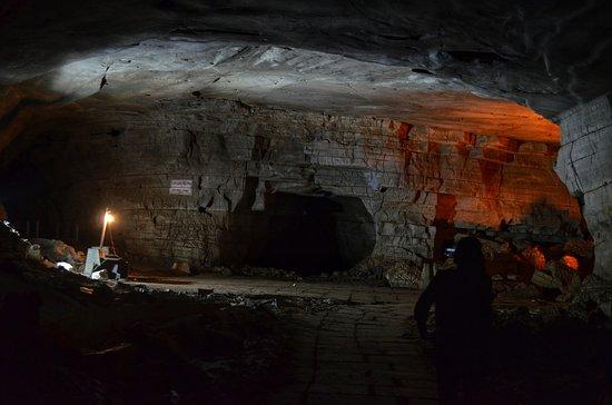 Belum Caves: Big place inside cave kind of big hall