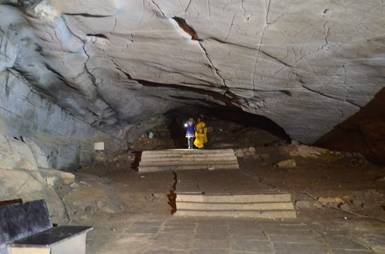 Belum Caves: one of the end