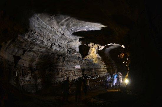 Belum Caves: inside cave