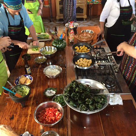 Yummy food at Que Rico Es Oaxaca cooking class