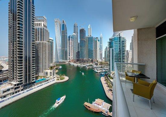 Marina Hotel Apartments: 3 Bedroom Apt View
