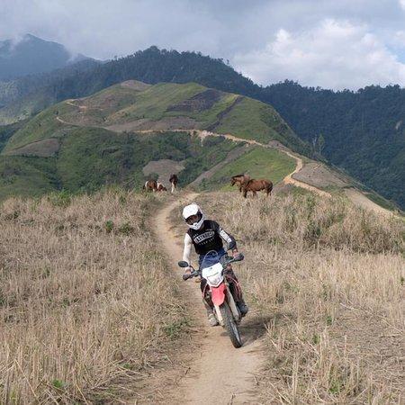 Motorcycle touring Vietnam