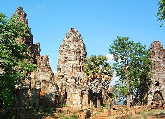 Banan Temple was built in Angkor Time, in Battambang province