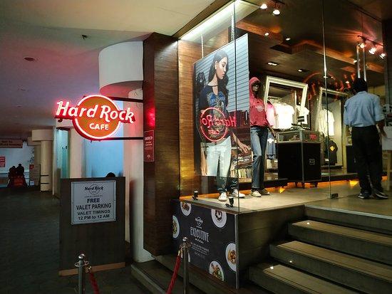 HRC entrance