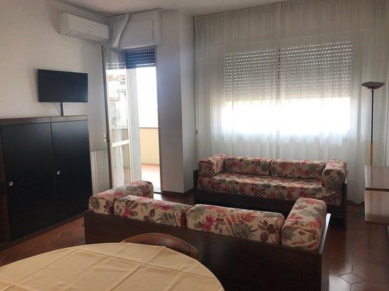 Soggiorno Appartamento bilocale fino a quattro posti letto