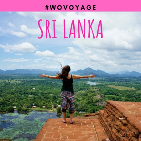 Шри-Ланка: Let's spread the wings and taste the freedom of traveling! Amazing view from Sigiriya ancient rock fortress in Sri Lanka, known as Lion Rock.  Do you want to visit this place? Let us know and tag your friends.  #wanderlusting #travelistolive #wovoyage #srilanka #letstravel #solotravel #womenbackpackers #traveladdict