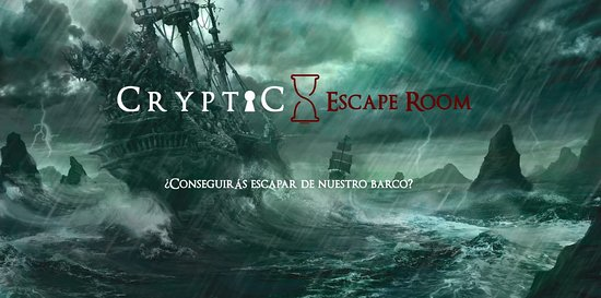Cryptic Sala de Escape