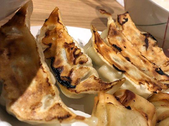 焼き健太餃子と揚げ一口健太(ぎょうざセット)