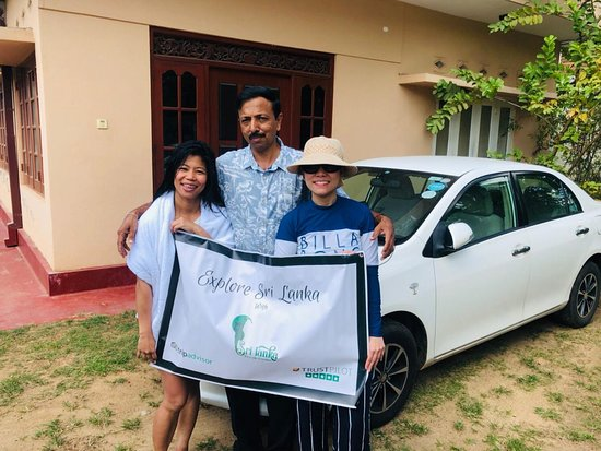 Private Car Hire with Driver-Guide for 05 Days Round Tour: photo taken right after our very exciting scuba diving and snorkeling activities