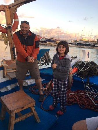 Makarounas Fishing Trip Rhodes: we've had a good fun