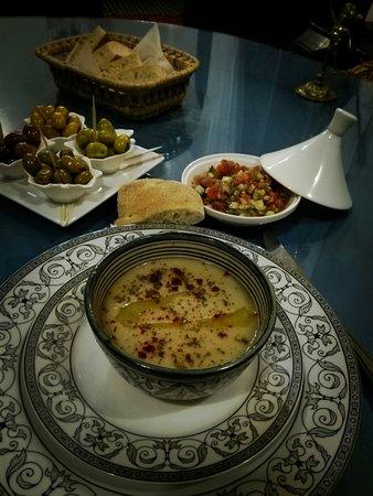 La soupe de fèves à l'ail (B'sara)