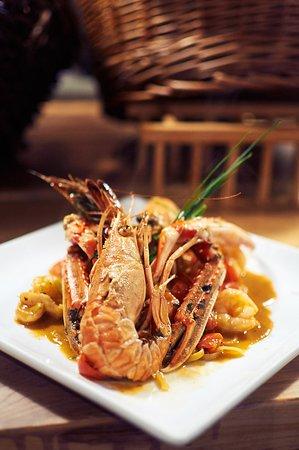 Seafood Liguine