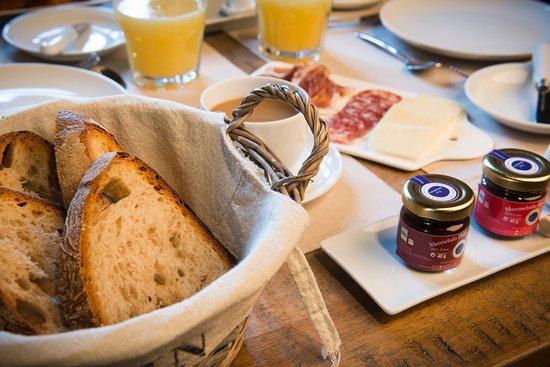 Desayunos con productos locales y ecológicos
