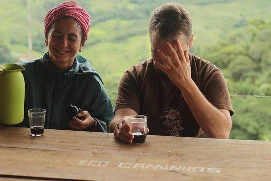 Eco Caminhos: people on the farm