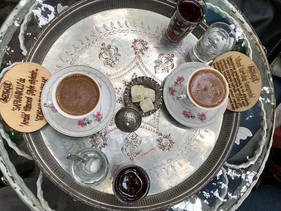 Safranbolu, Turkey: Türk kahvesi içmek için uğrayın