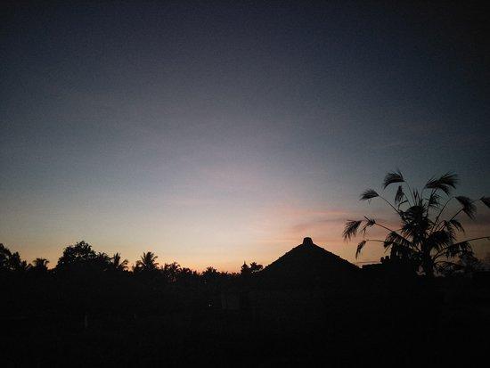 Sunrise in Ubud