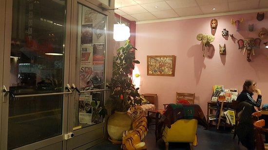 Cafe-Restaurant Les Savoises: Coin banquette