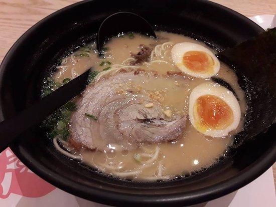 The best seller ramen soup of Ikkoryu