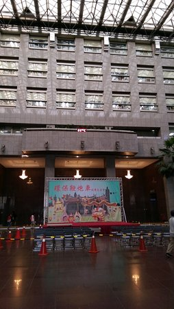台北市政府進去的大廳