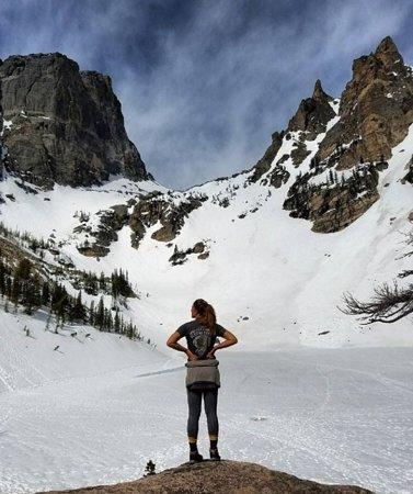 Rocky Mountain National Park, CO: Snowshoe Tour to Emerald Lake.