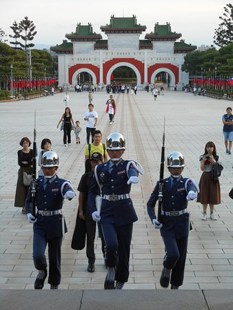 Guards and Plaza