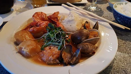 Hana Japanese Restaurant: One of the delicious cooked  meals