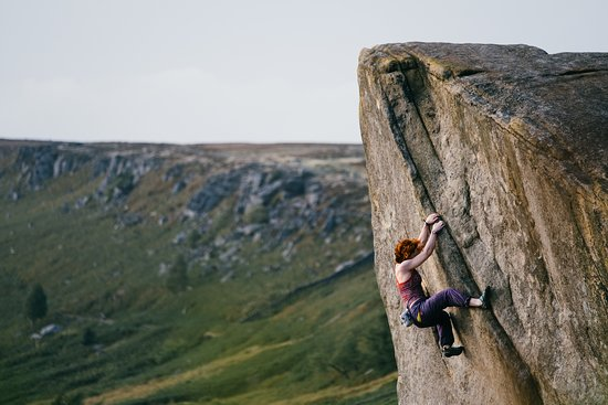 Peak District, UK: Climbing