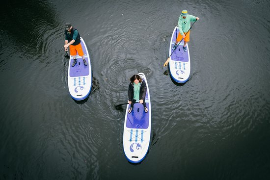 Peak District, UK: Paddleboarding