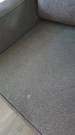 more stains on sofa