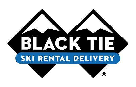 Black Tie Ski Rentals of Whistler: Our fresh new logo