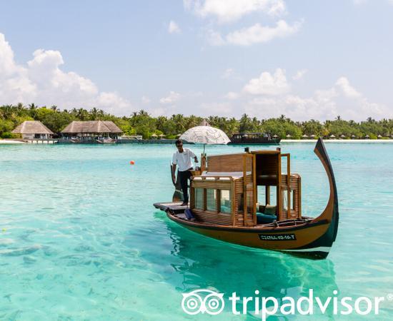 Spa Dhoni Gondola at the Four Seasons Resort Maldives at Kuda Huraa