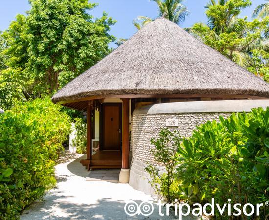 The Beach Bungalow with Pool at the Four Seasons Resort Maldives at Kuda Huraa