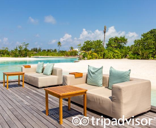 Sunset Lounge at the Four Seasons Resort Maldives at Kuda Huraa
