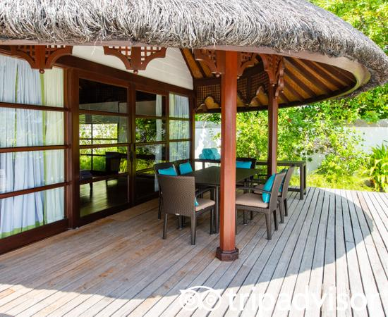 The Two-Bedroom Royal Beach Villa at the Four Seasons Resort Maldives at Kuda Huraa