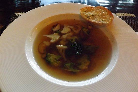 Bodhi Serene Hotel: ベジタブル・スープ