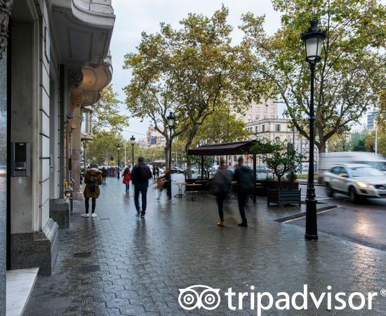 Street at the Casa Gracia