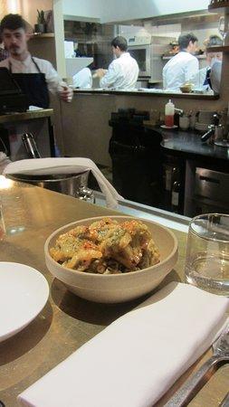 Le Servan: the fried brccoli
