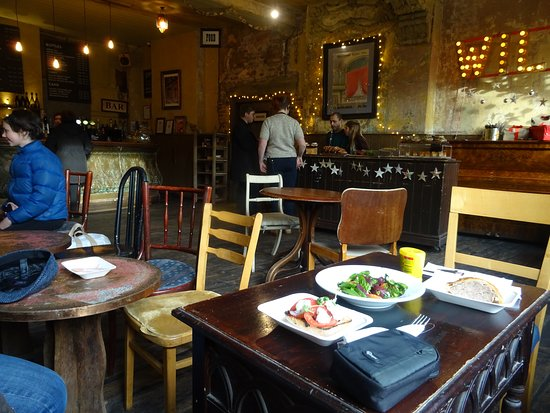 Wilton's Music Hall: Cafe with Bar