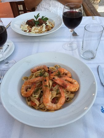 Excellent pasta dishes!