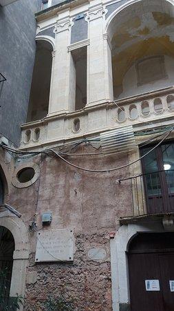 Museo Civico Belliniano: Cortile interno del palazzo