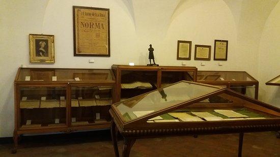 Museo Civico Belliniano: Spartiti musicali