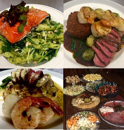 Comfort food with a flare. Fresh Salmon and Prime Beef are just a few of the menu items.